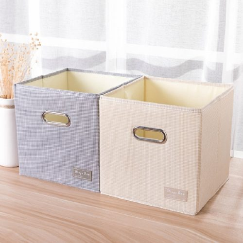 Foldable Storage Cube Bin