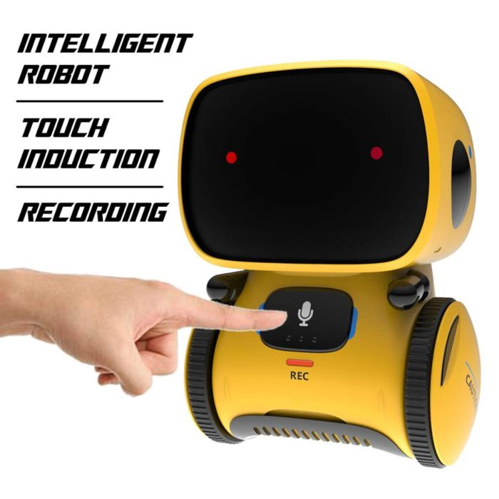 Smart Robot Toy with Voice Command