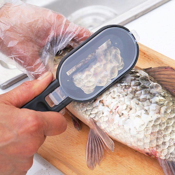 Fish Scaler Tool Fish Cleaning Scraper