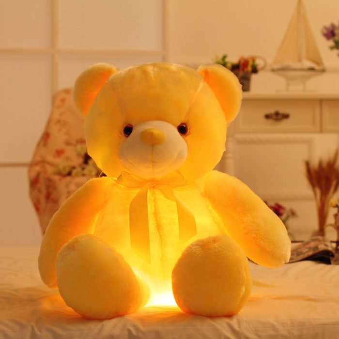 Light Up Bear with Color-Changing LED