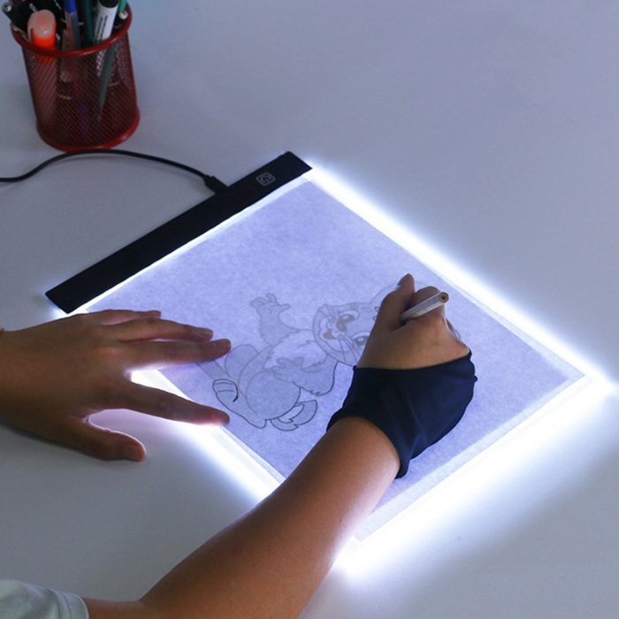 LED Drawing Pad Dimmable Lighting