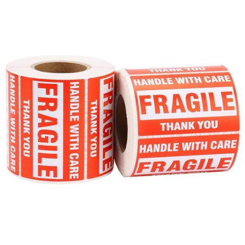 Fragile Stickers Warning Labels (500pcs)