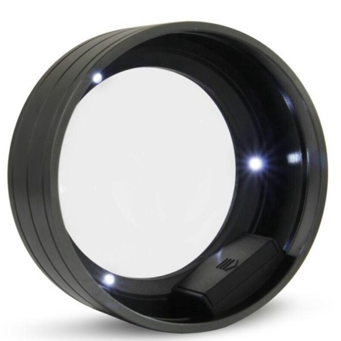 Dome Magnifier with LED Light