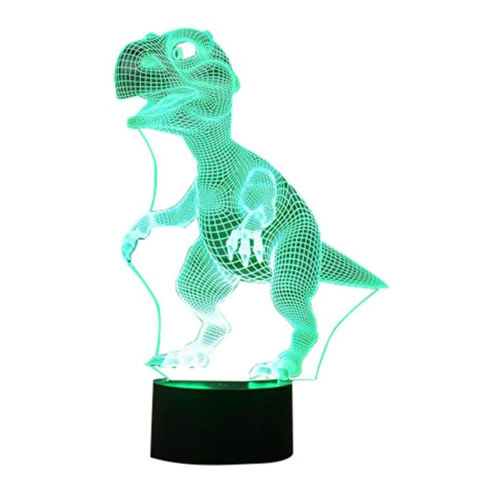 Dino Night Light 3D Lamp