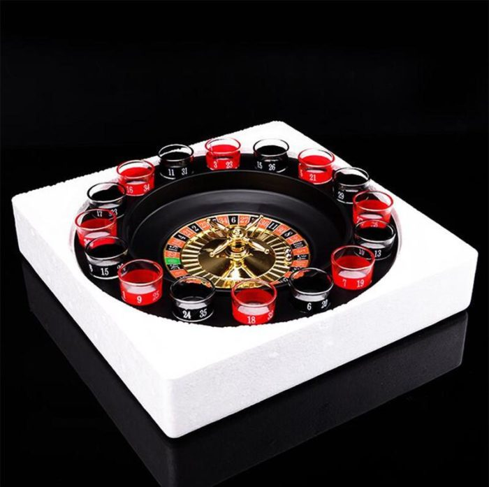 Shot Glass Roulette Drinking Game