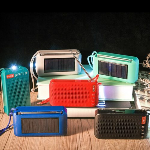 Solar Powered Speaker with FM Radio