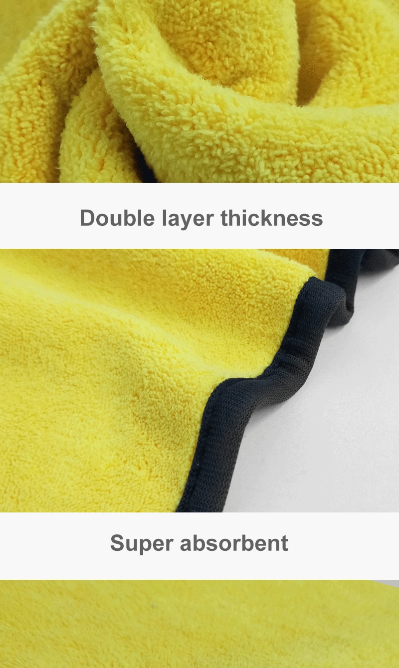 Microfiber Car Cleaning Cloth Car Wash Towel