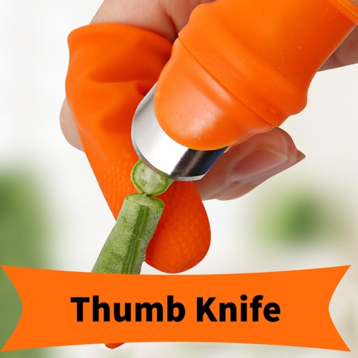 Thumb Knife Garden Picking Plant Tool