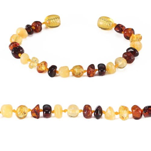 Amber Teething Bracelet for Baby