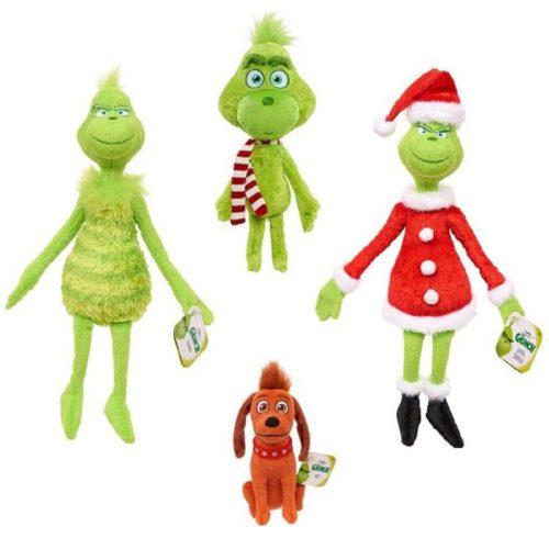 Grinch Dolls Soft Plush Toys