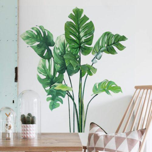 Tropical Wall Decal PVC Sticker