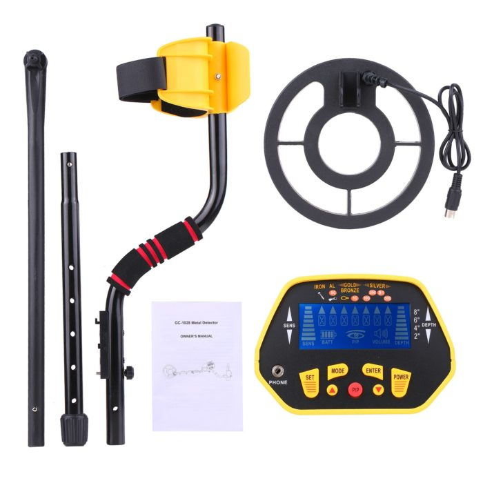 Waterproof Metal Detector Portable Device