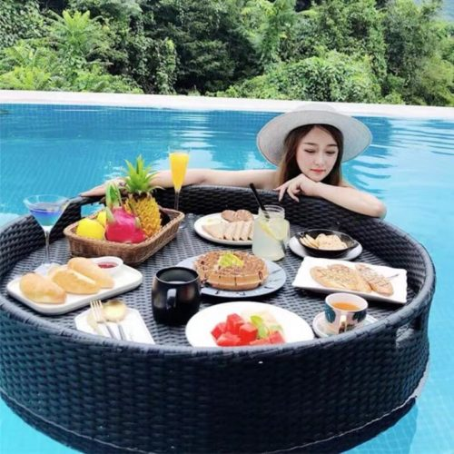 Floating Tray for Pool Rattan Table