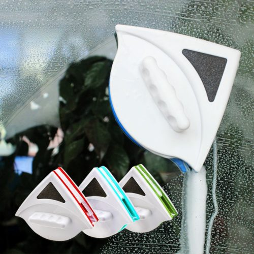 Double-Faced Glass Cleaner Magnet Wiper