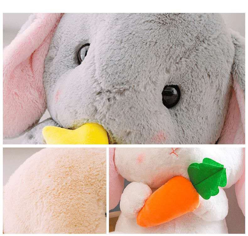 Cute Stuffed Rabbit Plush Soft Toys Bunny Kids Pillow Doll Creative Birthday Gifts for Children Baby Accompany Sleep Toy 22/32cm