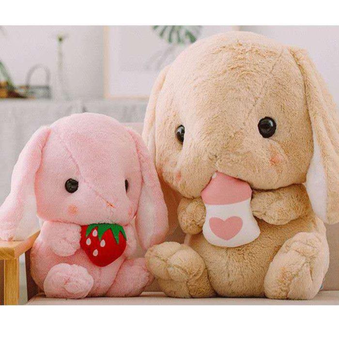 Bunny Stuffed Animal Cute Pillow