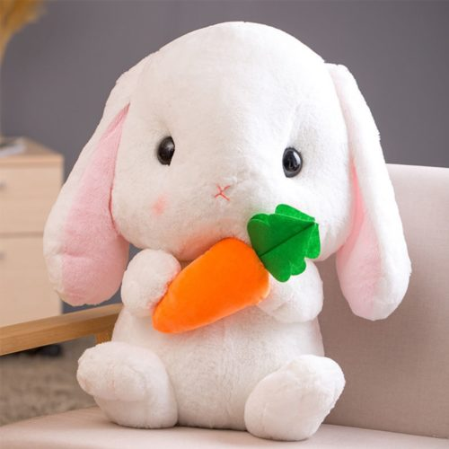 Bunny Stuffed Animal Cute Pillow
