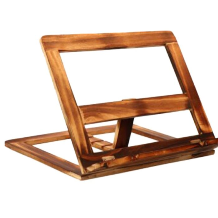 Wooden Table Book Stand
