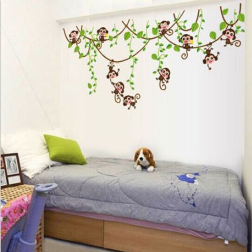 Cute Jungle Sticker for Wall