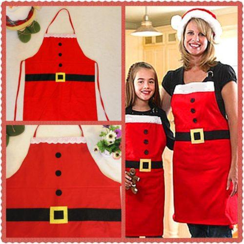 Christmas Apron Santa Design