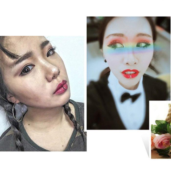 Fake Lip Ring Fashion Accessory