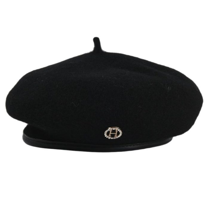French Beret Hat Winter Head Warmer