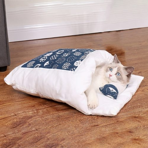 Cat Sleeping Bag Soft Cushion
