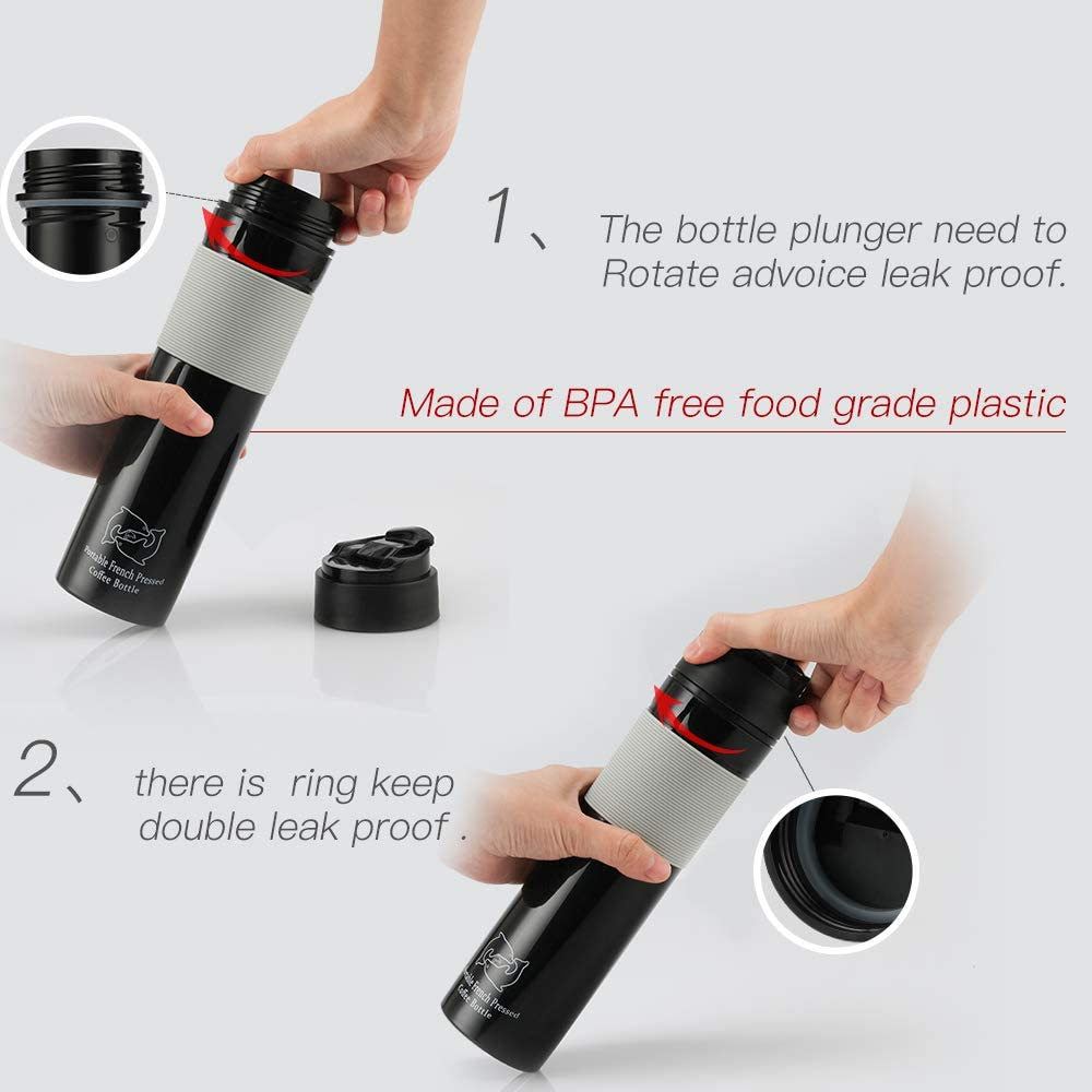 Original Portable French Press Coffee Maker Insulated Travel Mug Premium Group will be better