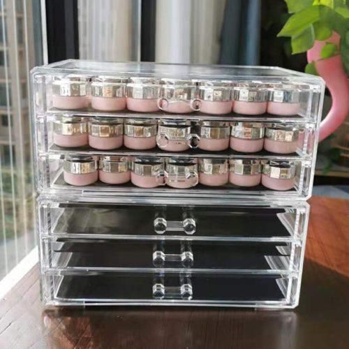 Acrylic Makeup Drawers Multi-purpose Storage