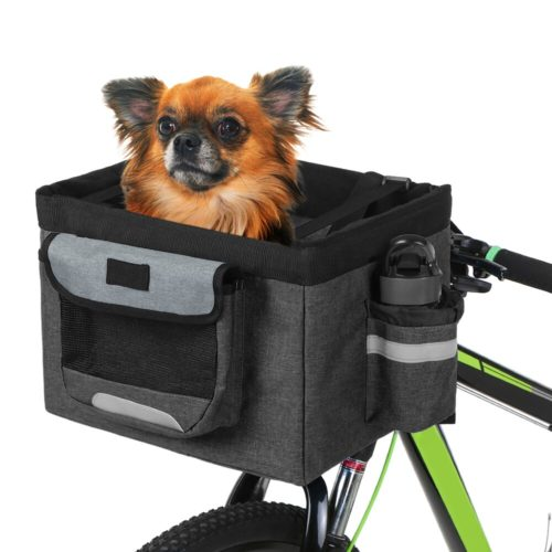 Bike Pet Basket Fabric Pet Carrier