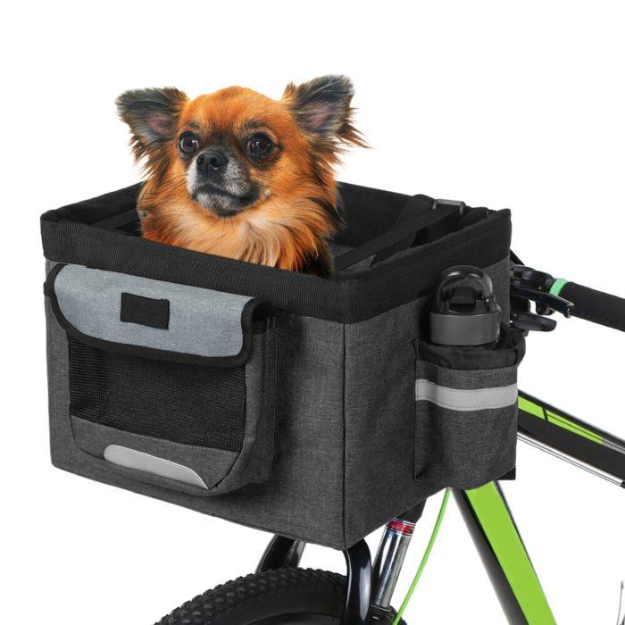 Bike Pet Basket Fabric Pet Carrier