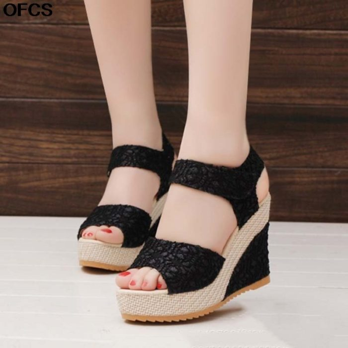 Womens Wedge Sandals Fashionable Sandals