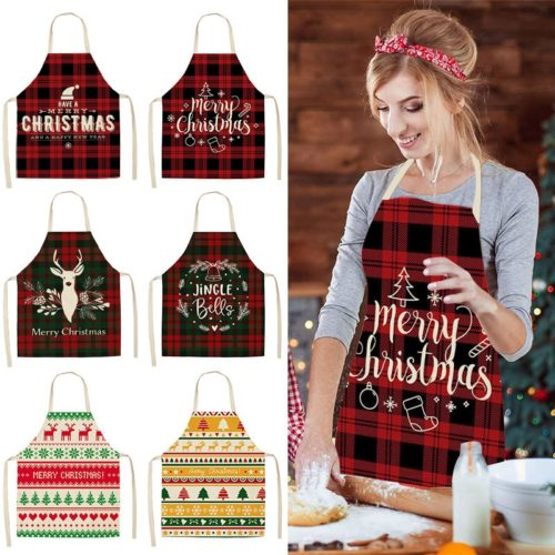 Christmas Apron For Adults Cooking Apron