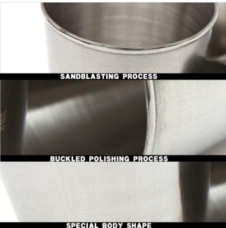 Stainless Steel Shot Glasses (4 pcs)