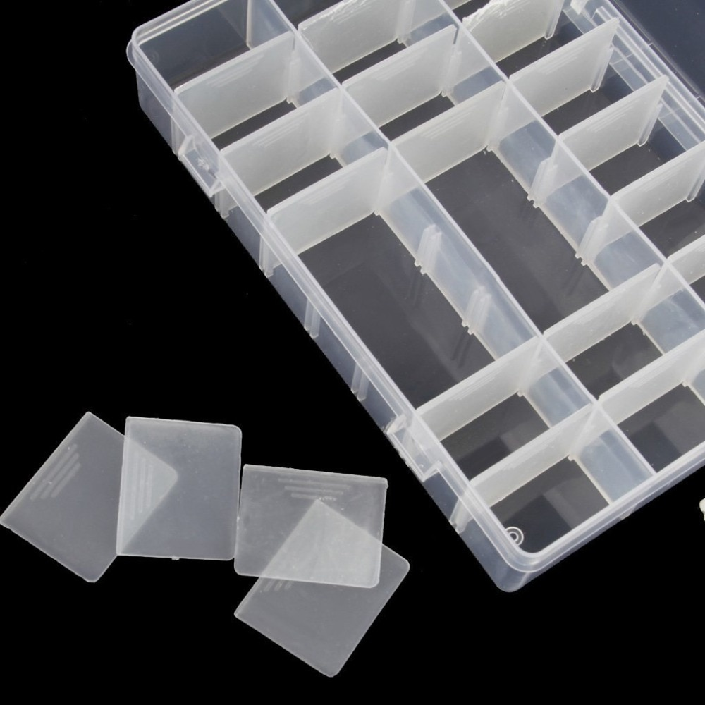 36 Grids Plastic Embroidery Floss Cross Stitch Organizer Storage Box For Floss Bobbins For Storage Holder Sewing Tools