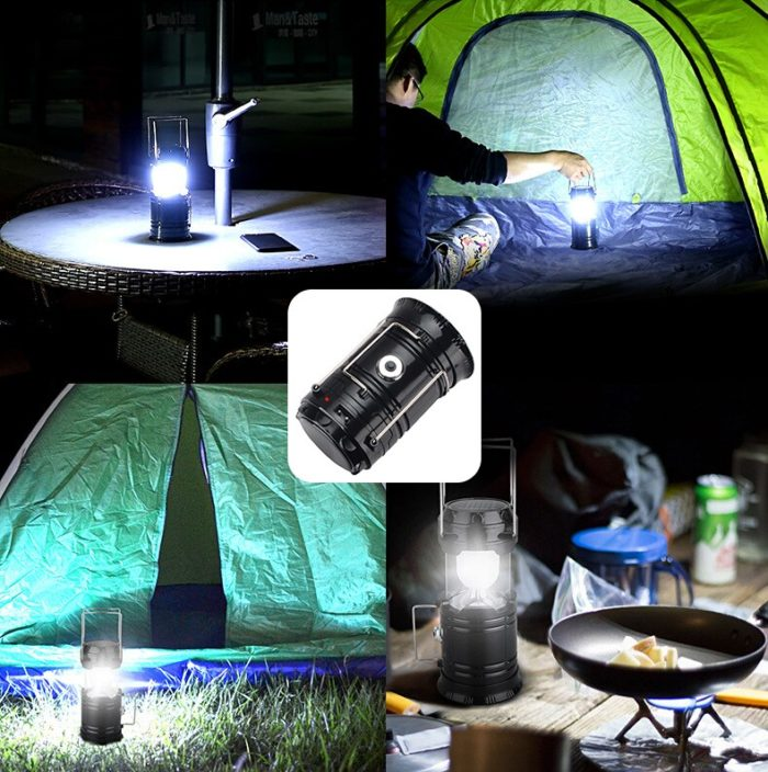 Collapsible Solar Powered Camping Light