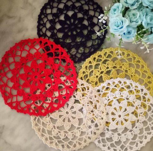 Crochet Coaster Lace Placemat