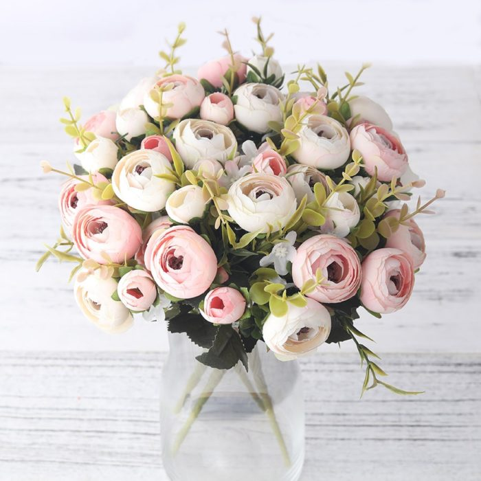 Artificial Flower Bouquet Silk Flowers