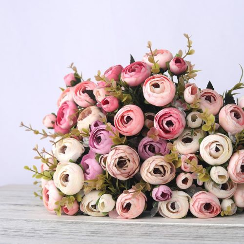 Artificial Flower Bouquet Silk Flowers