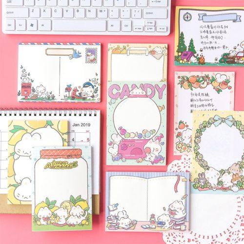 Colorful and Cute Memo Pad