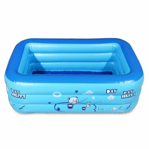 Inflatable Rectangular Kiddie Pool