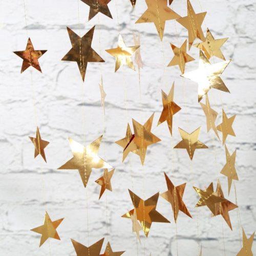 Star Garland Hanging Decoration