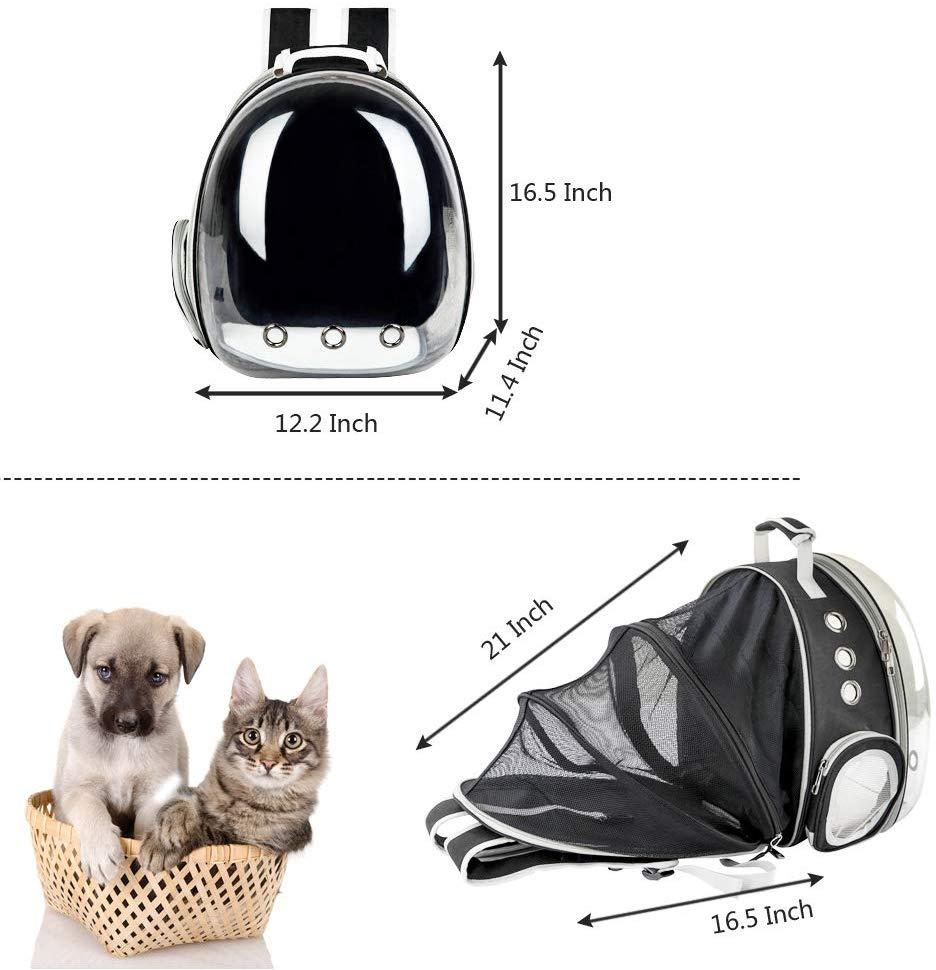 Portable Carrier capsule astronaut Shoulder cat bag Backpack Foldable for Pet Dog Large Space Tent Cage Bubble pet supplies