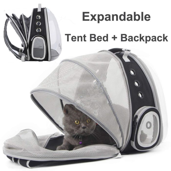 Cat Carrier Backpack Bubble Bag