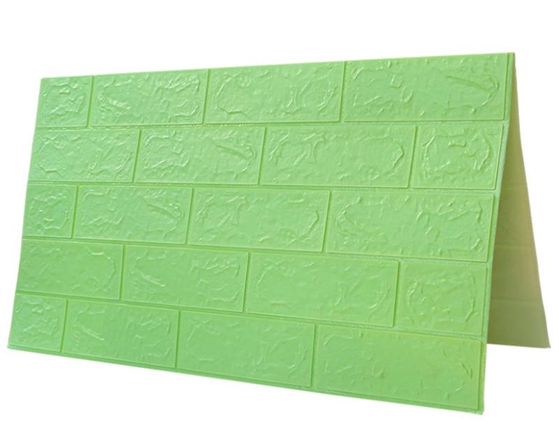 3D Brick Wall Stickers DIY Self Foam Waterproof Decor Wall Covering Wallpaper For TV Background Kids Living Room