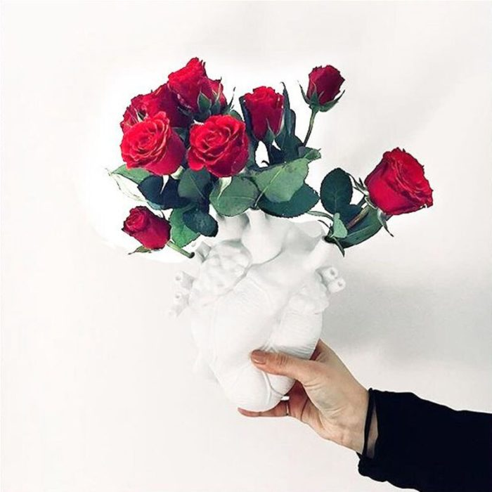 Anatomical Heart Vase Creative Home Decor
