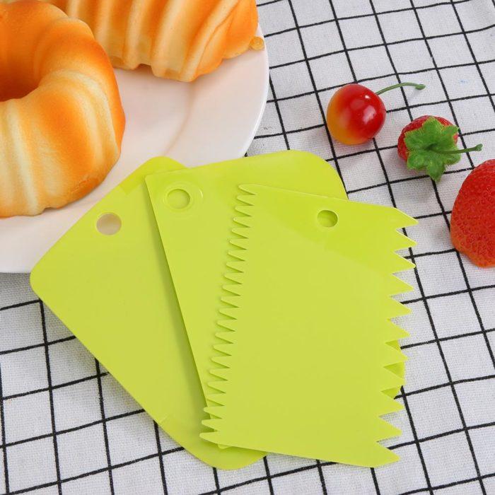 Cake Scraper Tools Baking Essentials (3pcs)