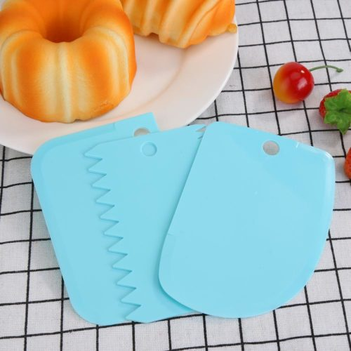 Cake Scraper Tools Baking Essentials (3pcs)
