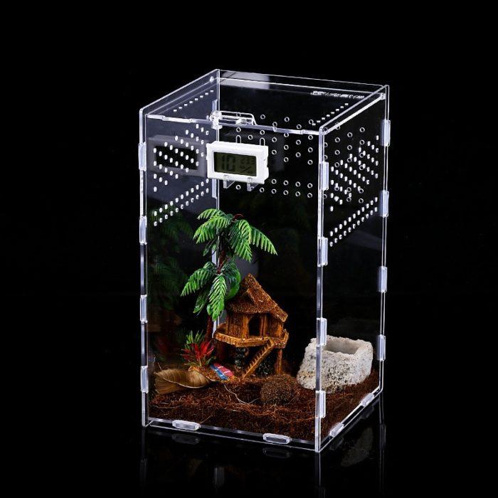Acrylic Tarantula Enclosure Pet Box