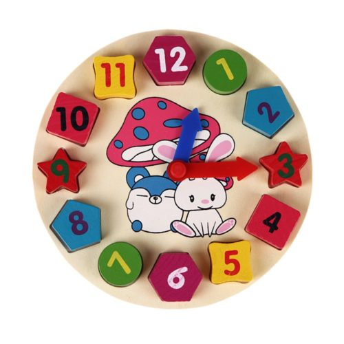 Clock Toy Wooden Puzzle